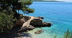 Holiday on Hvar in apartments directly on the sea